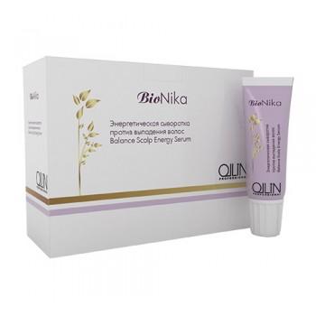 Энергетическая сыворотка против выпадения волос Balance Scalp Energy Serum Ollin