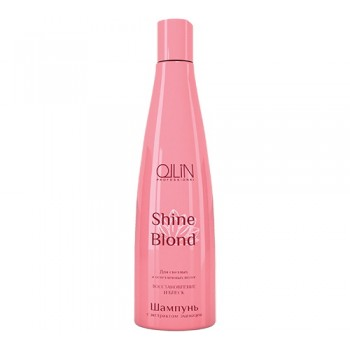 Шампунь с экстрактом эхинацеи Shine Blond Ollin
