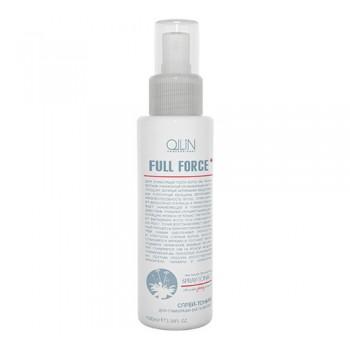 Спрей-тоник для стимуляции роста волос с экстрактом женьшеня Ollin
