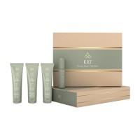 Набор (шампунь 100мл/ бальзам 100мл/ сыворотка100мл/ блеск 50мл) Keratine Royal Treatment Ollin