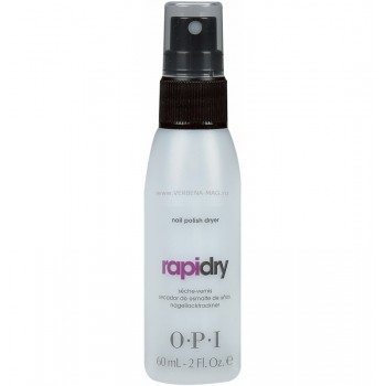 Спрей для быстрого высыхания лака RapiDry Spray Nail Polish Dryer OPI