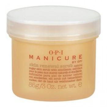 Скраб обновляющий с натуральными сахарными кристаллами Manicure Skin Renewal crub OPI