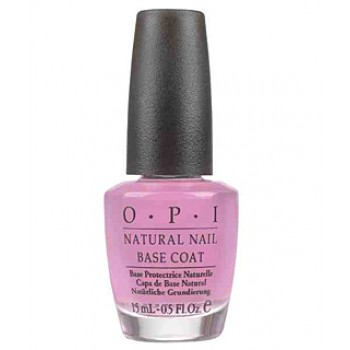 Покрытие базовое для натуральных ногтей (c кератин-аминокислотами) Natural Nail Base Coat OPI