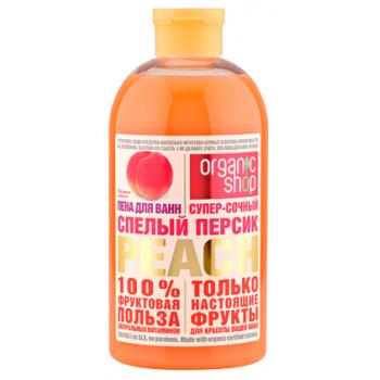Гель для душа Спелый Персик Peach Organic Shop