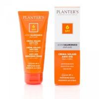 """""""гиалуроновая кислота"""" Cолнцезащитный антивозрастной крем для лица и тела SPF 6 Planters"""