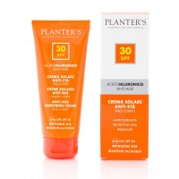 """""""гиалуроновая кислота"""" Cолнцезащитный антивозрастной крем для лица и тела SPF 30 Planters"""