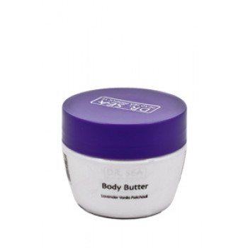 Масло для тела для предотвращения старения с маслами лаванды, ванили и пачули Doctor Sea (Израиль)