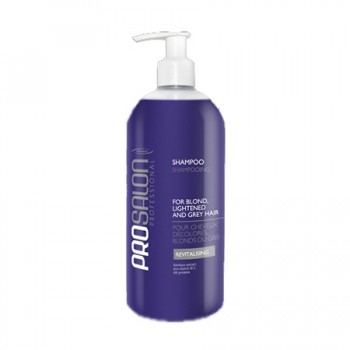 Шампунь для светлых, осветленных и седых волос Shampoo for blond, lightened and grey hair ProSalon Professional