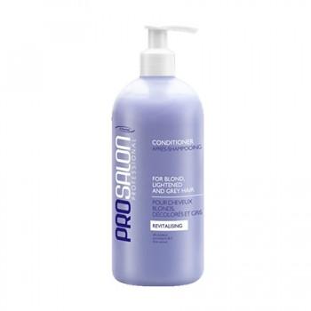 Питательный бальзам (кондиционер) для светлых, осветленных и седых волос Сonditioner for blond, lightened and grey hair  ProSalon Professional