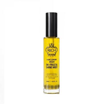 Спрей-вуаль на основе арганового масла, придающий блеск и гладкость Argan De-frizz & Shine Mist Rich
