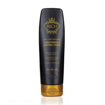 Средство двойного действия - кондиционер для волос и крем для бритья Energising Conditioner & Shaving Cream Rich