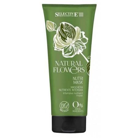 Питательная маска для восстановления волос Natural Flowers Nutri Mask