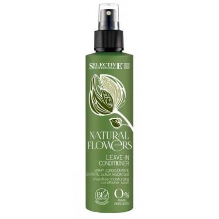Несмываемый спрей-кондиционер для волос Natural Flowers Leave-In Conditioner