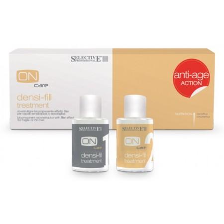 Двухкомпонентный филлер для восстановления волос Densi-Fill Treatment