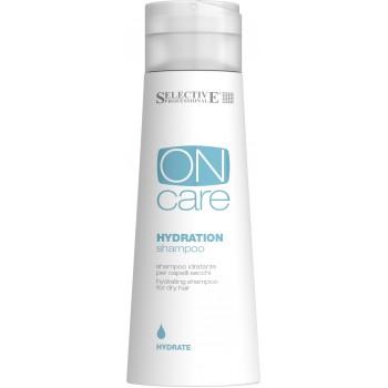 Увлажняющий шампунь для сухих волос Hydration shampoo Selective