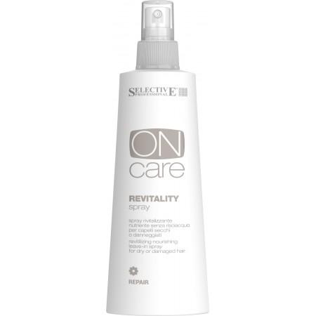 Питательный восстанавливающий  несмываемый спрей для сухих или поврежденных волос Revitality spray
