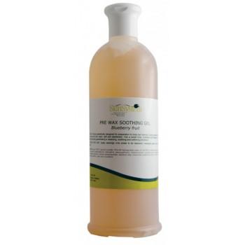 Гель перед депиляцией успокаивающий с экстрактом черники Pre Wax Soothing Gel - Blueberry  SkinSystem