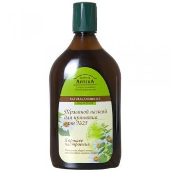 """Травяной настой для принятия ванн """"№ 25 Хорошее настроение"""" Зеленая Аптека"""