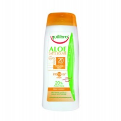 """""""Aloe"""" Солнцезащитный крем  SPF 20+  с комплексом Prosun-UV  Equilibra"""