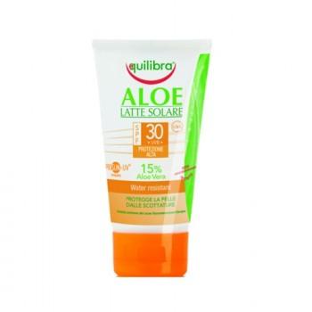 """""""Aloe"""" Солнцезащитный крем  SPF 30+  с комплексом Prosun-UV  Equilibra"""