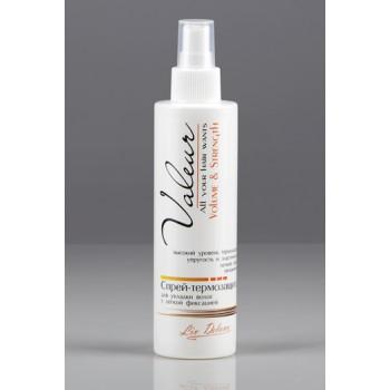 Спрей-термозащита для укладки волос с легкой фиксацией Liv Delano