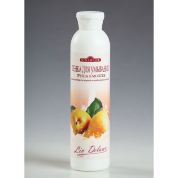 """Пенка для умывания """"Груша в молоке"""" нормализующая для жирной и комбинированной кожи Liv Delano"""