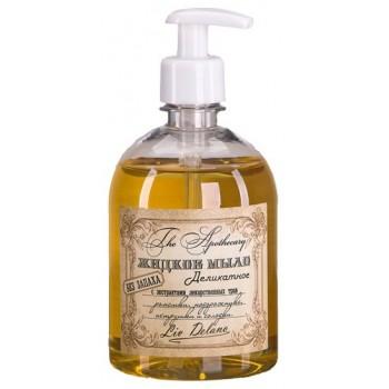Жидкое мыло деликатное без запаха с экстрактами лекарственных трав ромашки, подорожника, петрушки и солодки Liv Delano