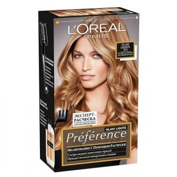 Краска для волос Preference Glam Lights L'Oreal Paris