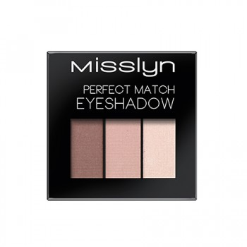 Тени для век Perfect Match Eyeshadow Misslyn