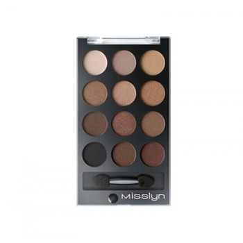 Тени для глаз Runway Eyes- eyeshadow Palette Misslyn