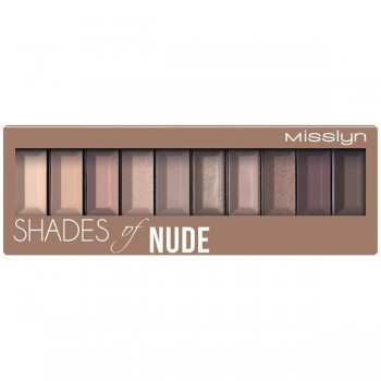 Палета теней для век Must have eyeshadow shades Misslyn