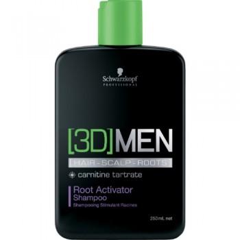 Шампунь активатор роста волос Root Activator Shampoo 3D Men (Schwarzkopf Professional)