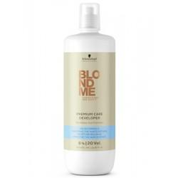 Бальзам-окислитель для мягкого обесцвечивания волос Premium Care Developer 6% / 20 vol. BlondMe (Schwarzkopf Professional)