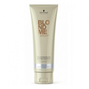 Шампунь для холодных оттенков блонда Color Enhancing Blonde Shampoo Cool Ice BlondMe (Schwarzkopf Professional)