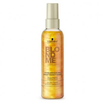 Спрей-кондиционер для усиления блеска волос Shine Enhancing BlondMe (Schwarzkopf Professional)