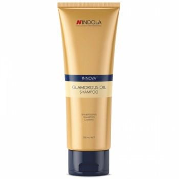 """Шампунь для всех типов волос """"Чарующее сияние"""" Glamorous Oil Shampoo Indola Professional"""