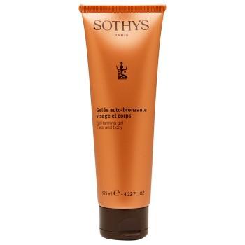 Гель автозагар для кожи лица и тела Self-tanning gel face and body Sothys