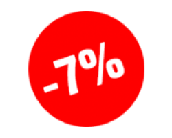 Cкидка 7% с 20 по 25 апреля 2016 г.