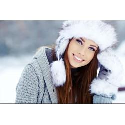 Как сохранить красоту волос зимой и не потерять блеск и шелковистость ?