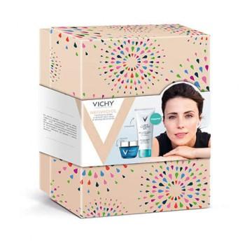 Подарочный набор для плотности кожи и четкого овала лица в период менопаузы+интеграль VICHY NEOVADIOL