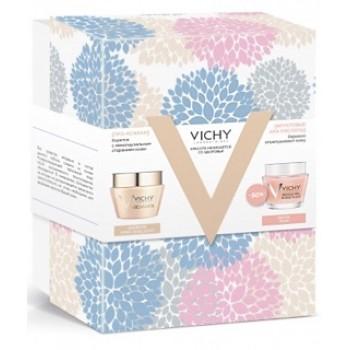 Подарочный набор  для плотности кожи и четкого овала лица в период менопаузы+маска VICHY  NEOVADIOL