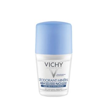 Дезодорант-шарик  с минералами без солей алюминия 48ч VICHY Deo Mineral
