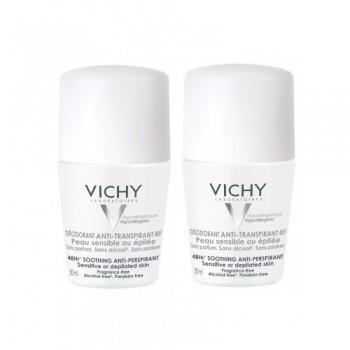 Подарочный набор для чувствительной кожи  48ч VICHY DEODORANTS
