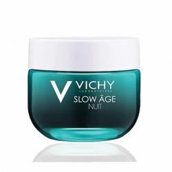 Крем и маска ночное восстановление д/лица д/ксигенации кожи Vichy Slow Age